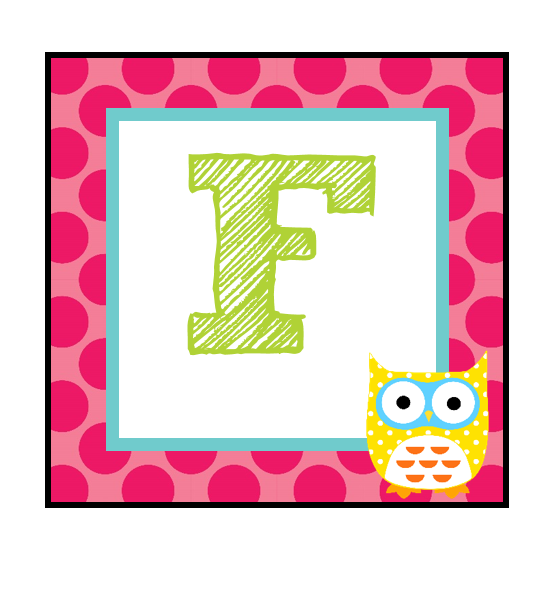 The Teaching Sweet Shoppe!: Owl alphabet for your word wall!