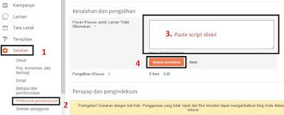 page not found, Error 404, halaman tidak ditemukan