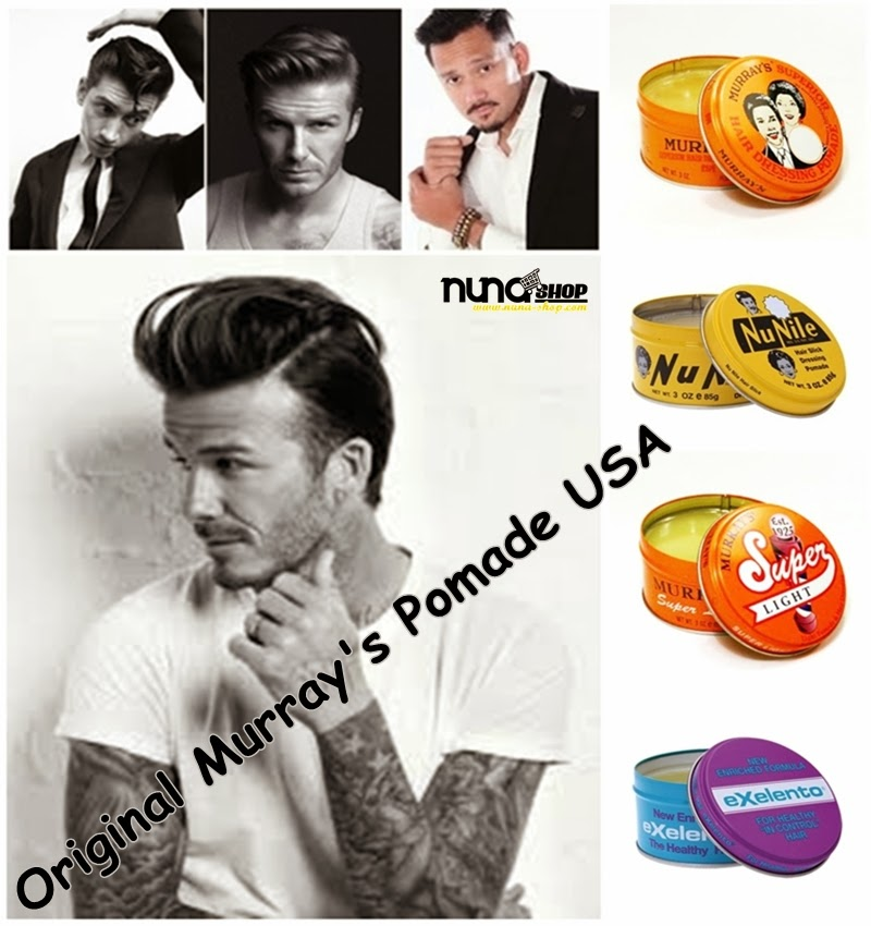 Minyak Rambut Murray's Pomade Original (Superior, Nu Nile, Super Light, Exelento)
