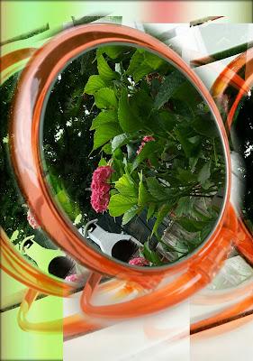 accessori Jäneke specchio trasparente da tavolo