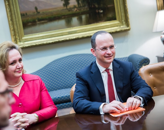 Bushati meetings at White House, Trump administration: We strongly support the implementation of Justice Reform