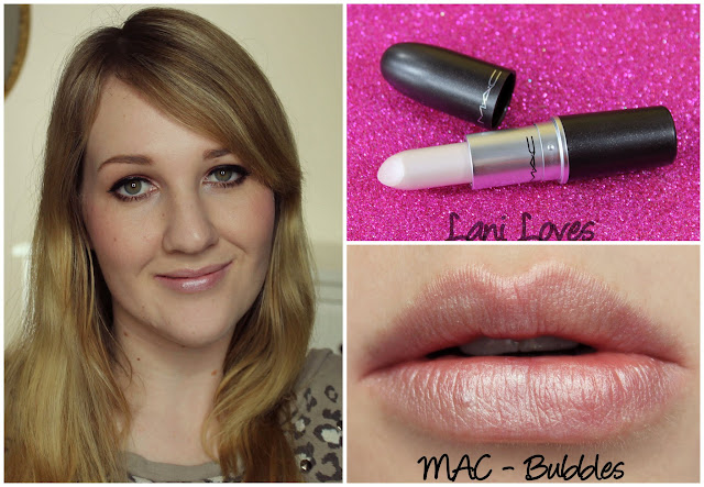 MAC Bubbles Lipstick swatch