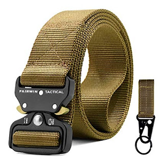 Military Style Tactical Belt for Men