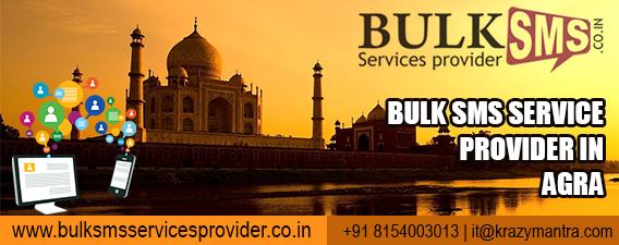 Bulk sms service provider in agra