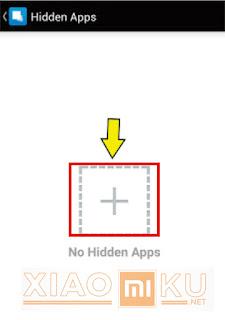 menyembunyikan aplikasi di xiaomi dengan hide app hide application