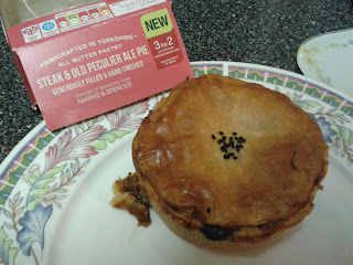 Steak and Old Peculier Ale Pie