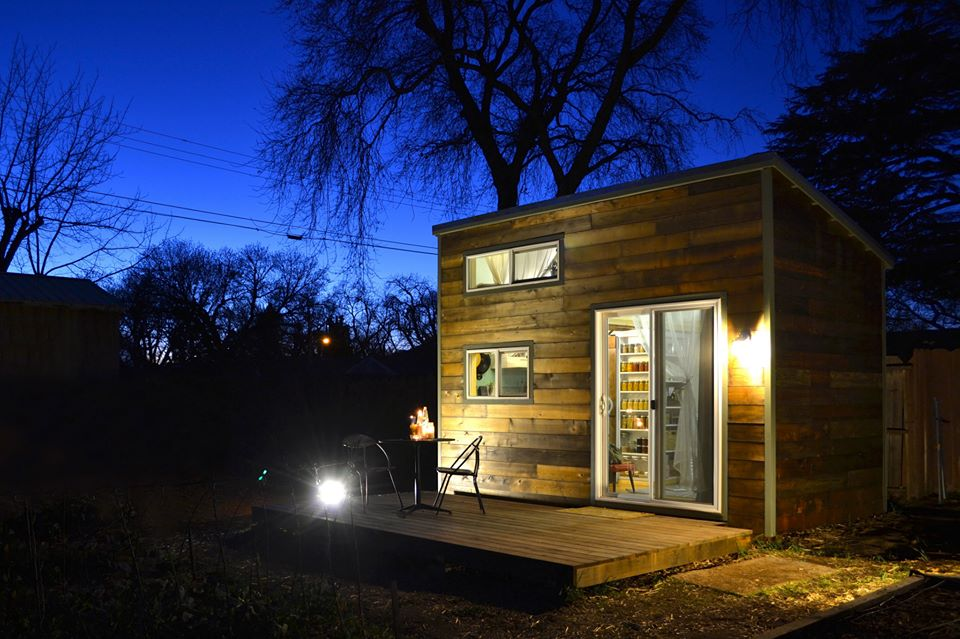 handcrafted tiny house in chico ca - Tiny Houses California