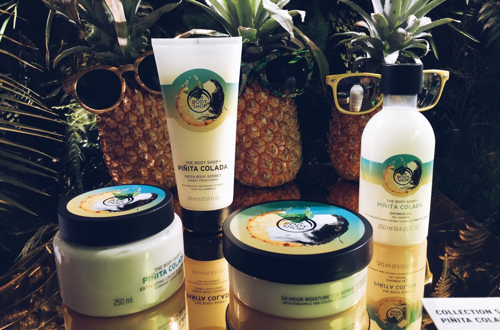 the body shop pinita colada collection été 2016