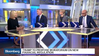 Trump to Propose Moratorium on New Financial Regulations