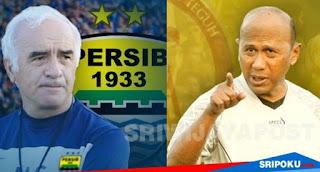 Persib vs Sriwijaya FC: Mario Gomez Unggul Head to Head atas Rahmad Darmawan