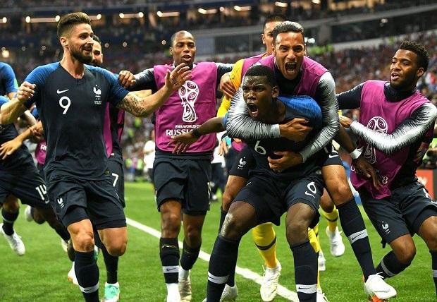 Mondial 2018: La France bat la Croatie et remporte la Coupe du Monde