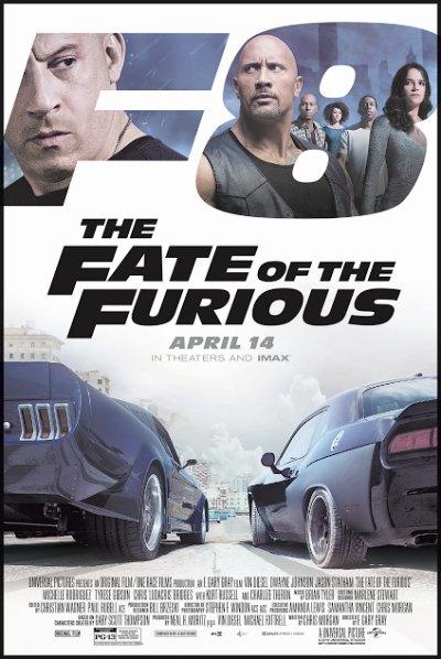 The Fate of the Furious [2017] [DVDR] [NTSC] [Custom HD] [Latino] [V4]