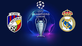 Viktoria Plzen vs Real Madrid Live Streaming Today 07-11-2018 UEFA Champions League