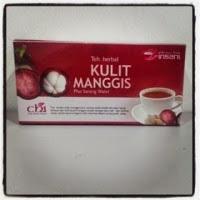 Teh Herbal KULIT MANGGIS plus Sarang Walet CHI