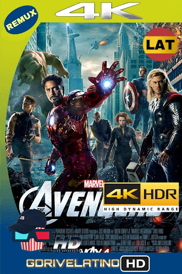 The Avengers: Los Vengadores (2012) BDRemux 4K HDR Latino-Ingles MKV