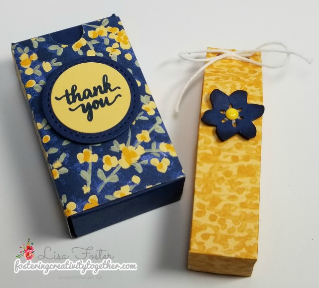 gift bag, lip balm, gift packaging, stampin' up