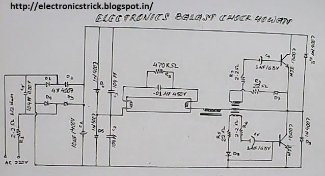 ELECTRONICS TRICKS AND TIPS: HOW TO REPAIR ELECTRONICS CHOKE