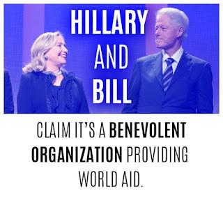 It's Bill & Hillary Clinton Claining it's a benovolent organization providing world aid