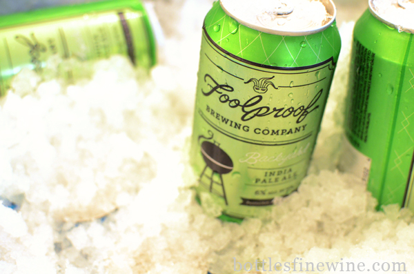 """Foolproof Brewery"" Pawtucket, ""Rhode Island"" beer, cans"