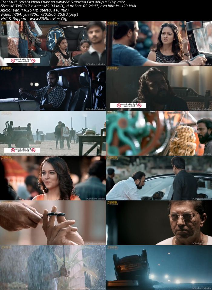 Mufti (2018) Hindi Dubbed 480p HDRip