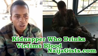 kidnapper who drinks victims blood