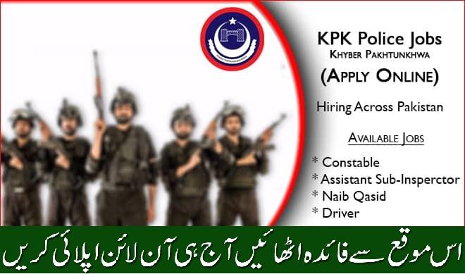KPK Police Jobs 2020 (Apply Online Today)