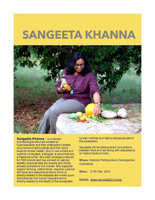 Sangeeta Khanna at National Permaculture Convergence