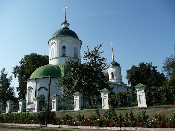 Ніжин. Церква Василя Великого. 18 ст.