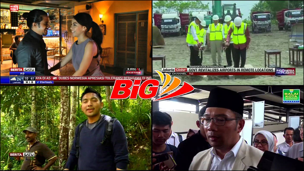 Channel Gratis Big TV Siaran Terbaru