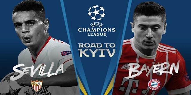 Prediksi Sevilla vs Bayern Munchen Liga Champions