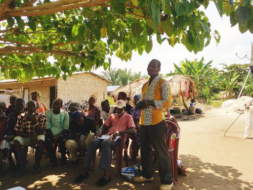 Antje Schuberts Einsatz in Ghana