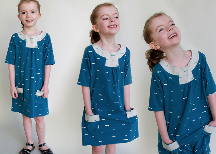 The Pristine Swing Dress from Blank Slate Patterns   Sewn by The Inspired Wren