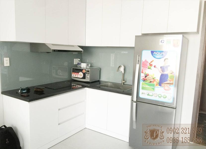 The Prince Residence cho thuê căn hộ 49m2 - phòng bếp