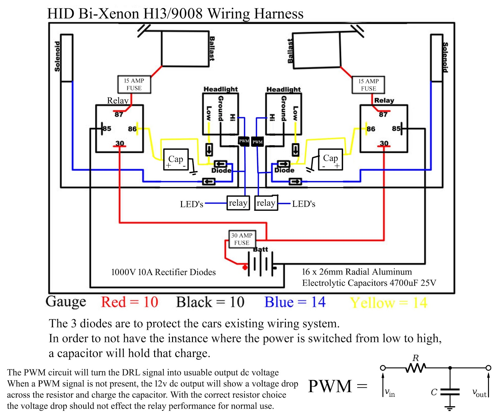 giowiringforhidp%2Bcopy h13 9008 wiring diagram wiring diagrams 9007 wiring diagram at nearapp.co