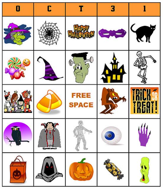 photo about Printable Halloween Bingo Card titled Halloween Bingo Templates. 13 sets of absolutely free printable