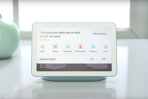 Google Home Hub unveiled with 7-inch touch screen display and built-in Google Assistant