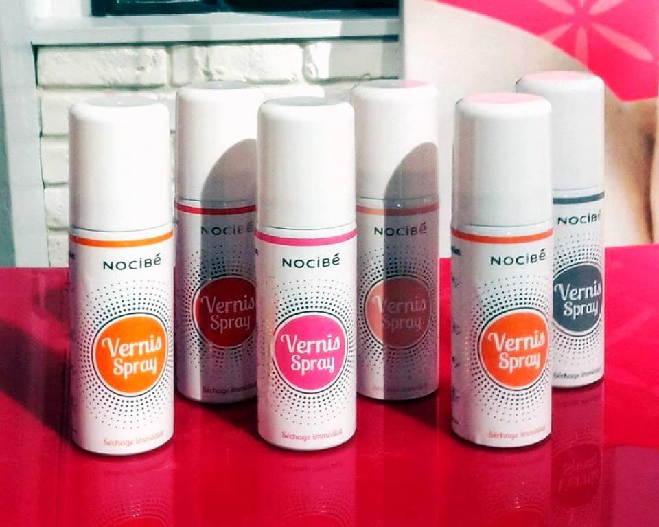 D maquillages blog beaut le vernis spray de nocib passez votre chemin - Temps de sechage peinture auto avant vernis ...
