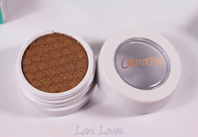 ColourPop Super Shock Shadow - Sunset Blvd Swatches & Review