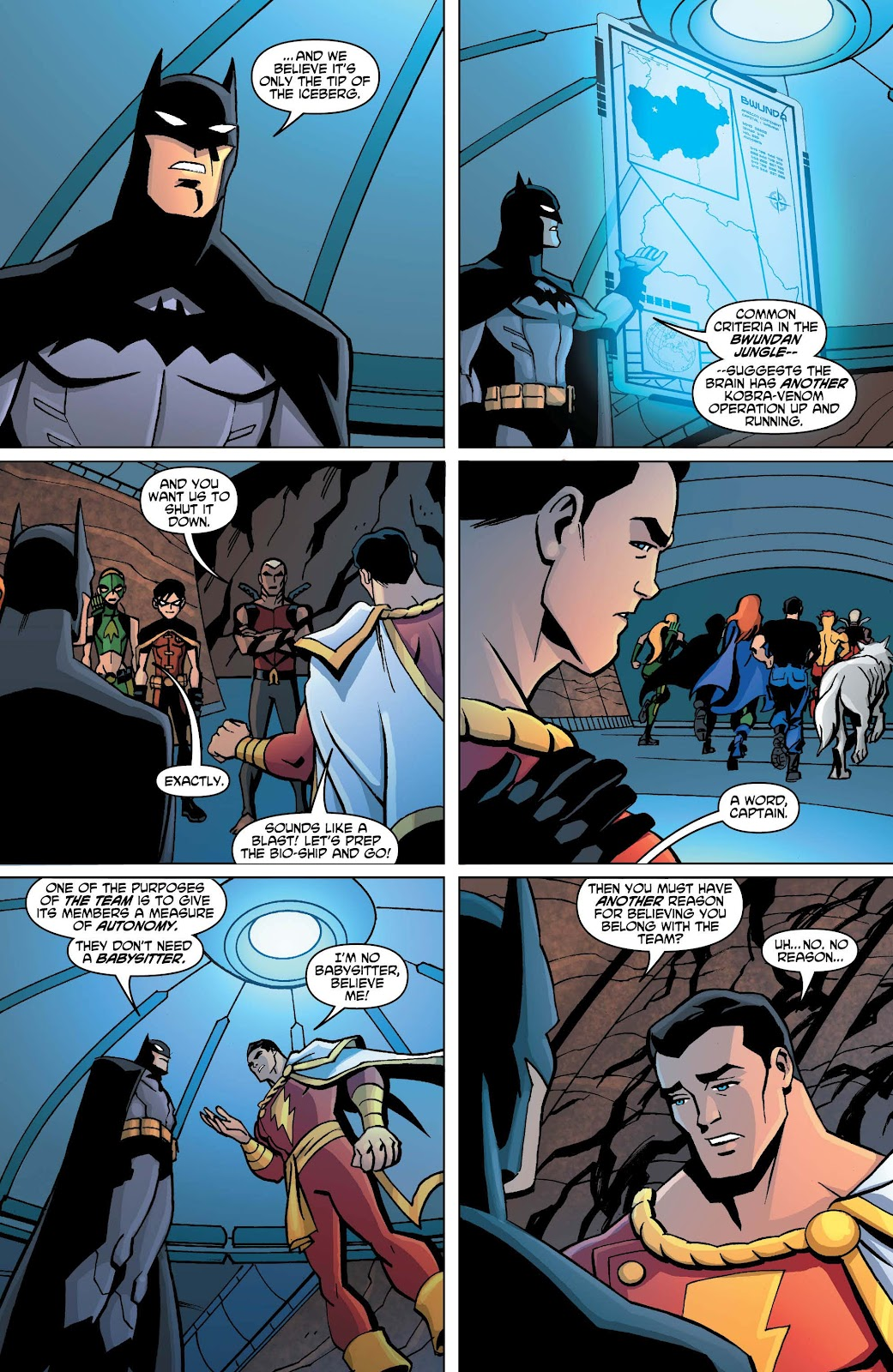 Yj Cave Inside Young Justice Comic Issue 18-7459