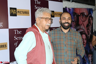 Nimrat Kaur and Naseeruddin Shah at Special Screening Of movie The Sense Of An Ending 08.JPG