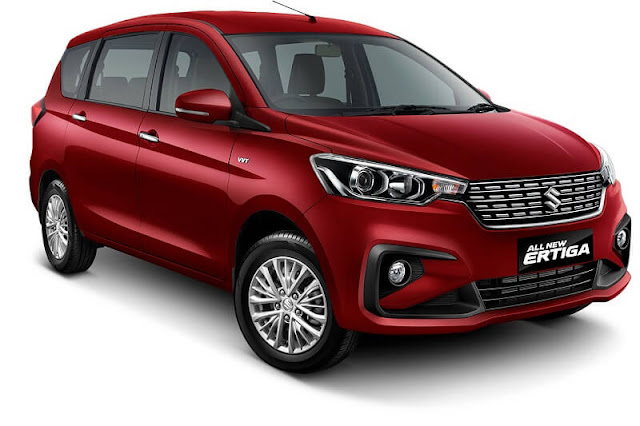 All New Maruti Suzuki Ertiga 2018 new facelift version