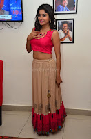 Akshita super cute Pink Choli at south indian thalis and filmy breakfast in Filmy Junction inaguration by Gopichand ~  Exclusive 021.JPG