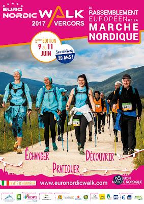 Euronordicwalk Vercors 9-12.6.2017 AFFICHE