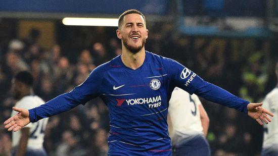 Eden Hazard Chelsea FC Vs Tottenham Hotspur