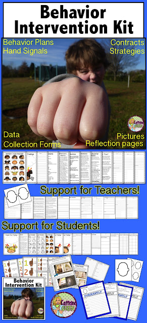 Behavior management support for teachers and students