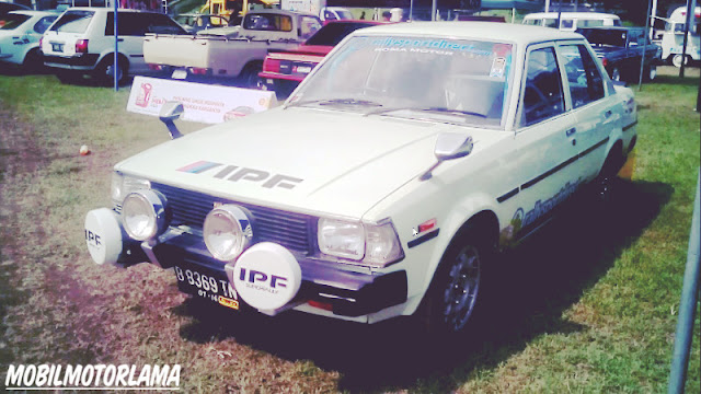 Modifikasi Corolla DX Retro Rally Style depan