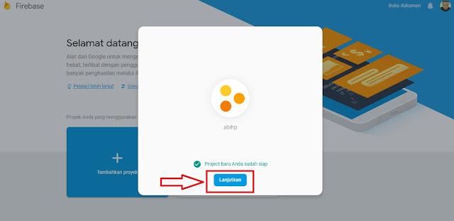 Silahkan klik tombol Lanjutkan untuk membuat VIew Count blogger.