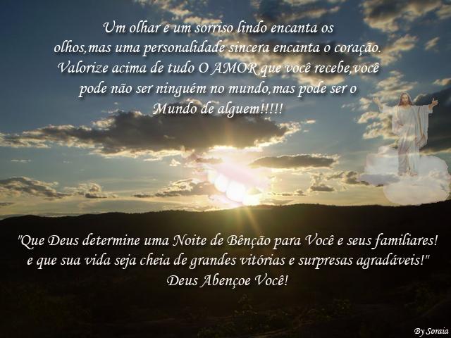 BLOG DO LUIS MEIRA: Boa Noite