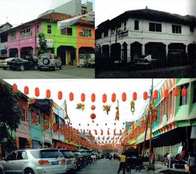 Lokasi Wisata Sejarah Kota Pekanbaru KAWASAN PECINAN tionghoa