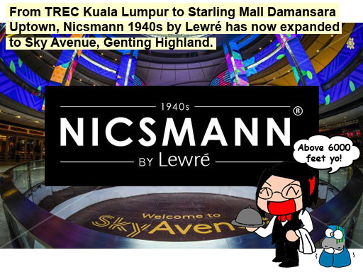 Nicsmann 1940s by Lewré is coming to Sky Avenue, Genting Highlands
